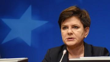19-12-2016 10:53 Szydło: mamy opozycję, która nie kocha Polski