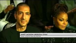 Janet Jackson urodziła syna - mama i dziecko mają się świetnie