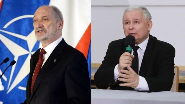 """""""Nie da się wbić klina między Kaczyńskiego a Macierewicza"""""""