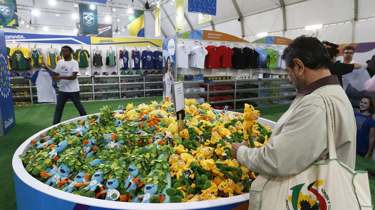 Rio: otwarto największy spośród 132 sklepów z oficjalnymi pamiątkami