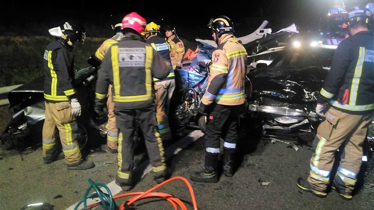 Trzech Polaków zginęło w wypadku w Hiszpanii