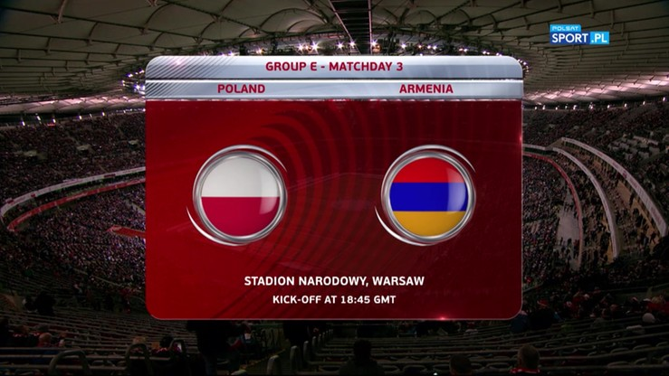 2016-10-11 Polska - Armenia 2:1. Skrót meczu