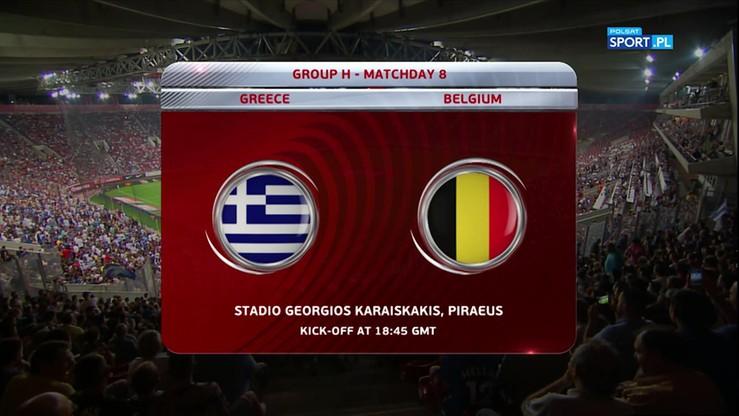 2017-09-03 Grecja - Belgia 1:2. Skrót meczu
