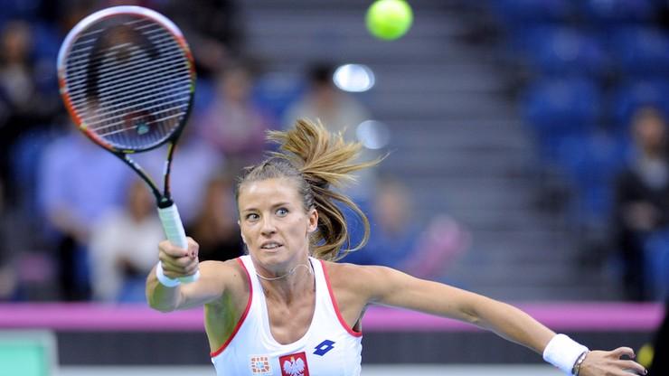 Wimbledon: Rosolska awansowała do drugiej rundy miksta