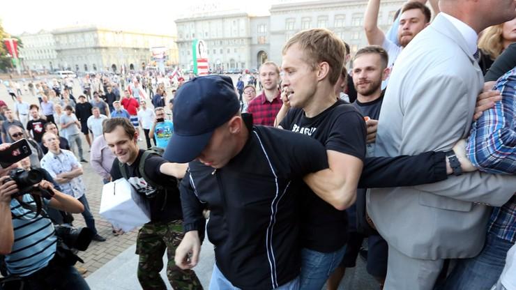 Białorus protest