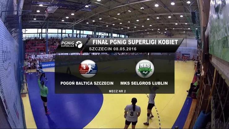Pogoń Baltica Szczecin - MKS Selgros Lublin 29:17. Skrót meczu
