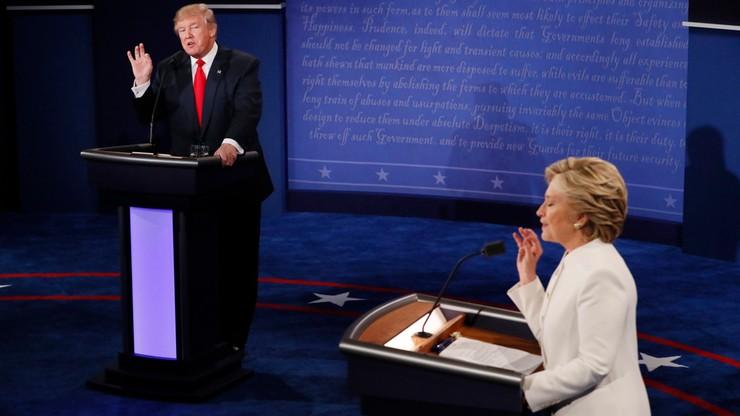 Reakcje gwiazd i celebrytów na debatę w USA. Stoją murem za Hillary Clinton