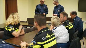 Holenderscy policjanci z wizytą na Śląsku. Zwiedzili m.in. obóz Auschwitz-Birkenau
