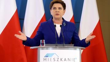 """03-06-2016 12:18 """"Czas na Mieszkanie+"""". Premier Szydło przedstawiła kolejny program rządowy"""