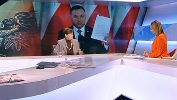 Romaszewska: ustawa o sądach powszechnych nie została zawetowana, minister Ziobro działa zbyt wolno