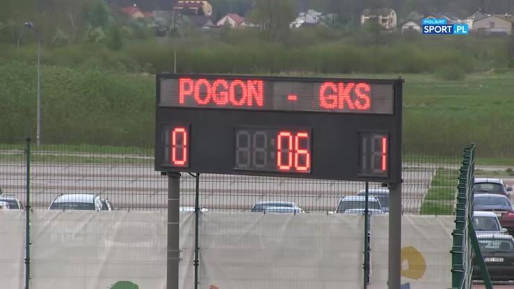2017-05-08 Pogoń Siedlce - GKS Katowice 0:1. Skrót meczu