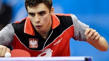 2017-11-10 WT w tenisie stołowym: Dyjas odpadł w 1/16 finału w Magdeburgu