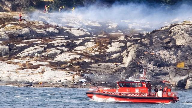 Katastrofa śmigłowca w Norwegii. Zginęli wszyscy pasażerowie