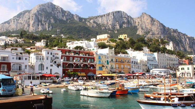 Na Capri raczej nie wypoczniesz. Tłok, korki i wysokie ceny
