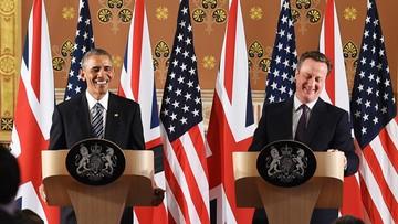22-04-2016 20:07 Obama ostrzega Brytyjczyków, że w razie Brexitu nie mogą liczyć na umowę handlową z USA