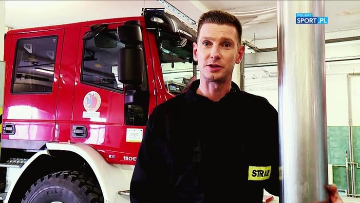 Kadziewicz został strażakiem i bije na alarm!