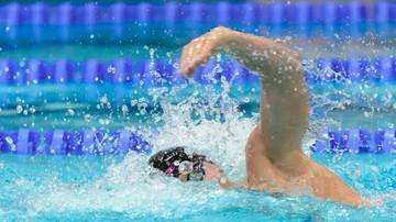 2015-12-06 Brąz Szczepańskiego na 100 m kraulem