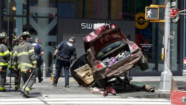 """Sprawca wypadku na Times Square chciał """"zabić ich wszystkich"""""""