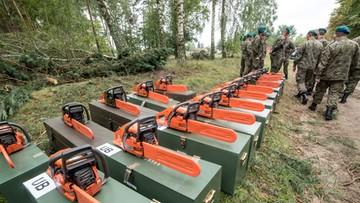 18-08-2017 11:23 Gwałtowne burze mogą utrudnić pracę wojska po nawałnicach. Prognozy nie są optymistyczne