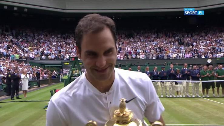 Federer wzniósł trofeum Wimbledonu po raz ósmy w karierze