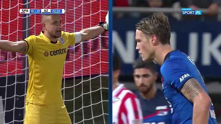 Napastnik AZ Alkmaar zmarnował dwa karne w odstępie minuty!
