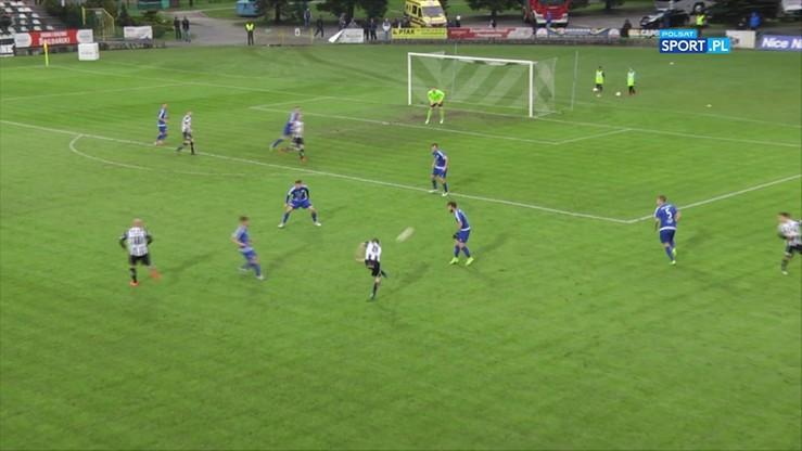 Sandecja Nowy Sącz - Stal Mielec 1:0. Skrót meczu