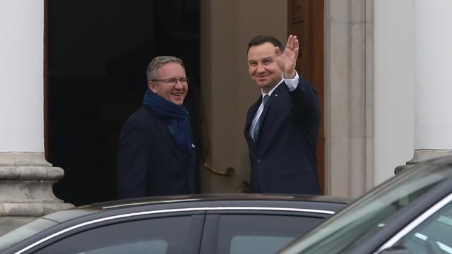 Bochenek o spotkaniu prezydenta z prezesem PiS: wierzymy w kompromis