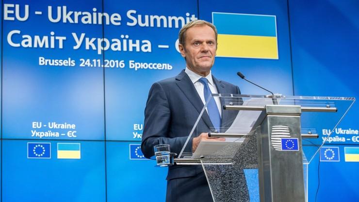 Tusk ma nadzieję na decyzję ws. zniesienia wiz dla Ukraińców jeszcze w tym roku