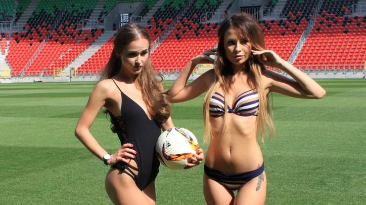 Stadion GKS-u Tychy zamienił się w dom mody Victoria's Secret (ZDJĘCIA)