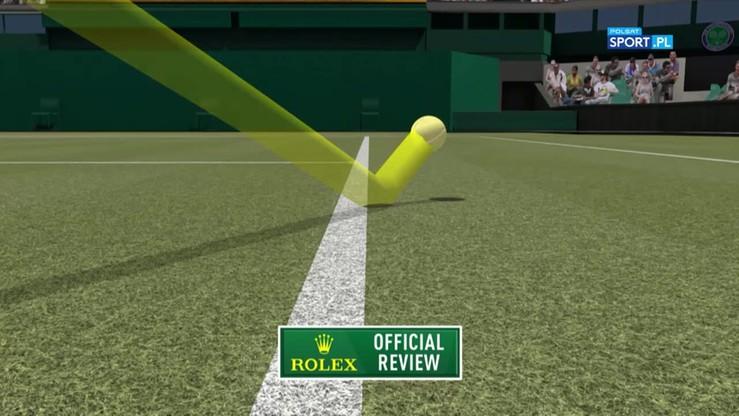 Tenis na najwyższym poziomie! Genialna wymiana w meczu Konta - Halep