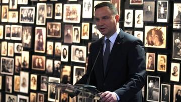 Prezydent: Auschwitz to ostrzeżenie co może się stać, gdy życie zdominuje nienawiść