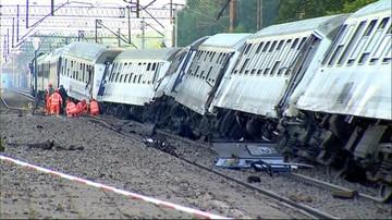 Wypadek kolejowy w Pomorskiem. 28 osób trafiło do szpitali