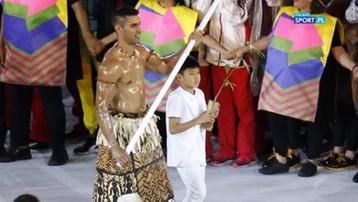 2016-12-07 Chorąży reprezentacji Tonga z Rio chce wystąpić w zimowych igrzyskach