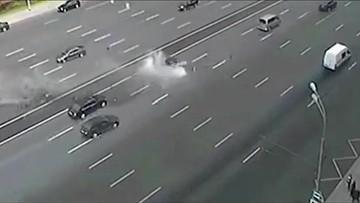 07-09-2016 13:38 Wypadek limuzyny Putina. Zginął szofer prezydenta Rosji