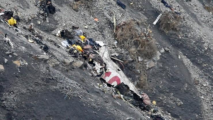 Raport ws. katastrofy samolotu Germanwings. Pilot miał skierowanie do szpitala psychiatrycznego