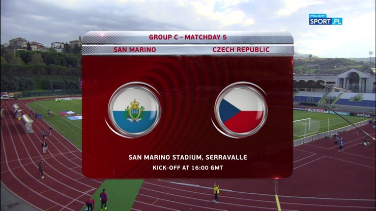 San Marino - Czechy 0:6. Skrót meczu