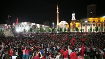 Euro 2016: Albańczycy powitani po królewsku