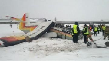 Katastrofa samolotu w Rosji. Zginęły 4 osoby