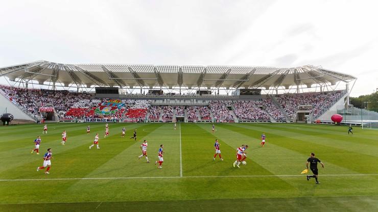 Mecz ŁKS - Pogoń Lwów otworzył nowy stadion w Łodzi