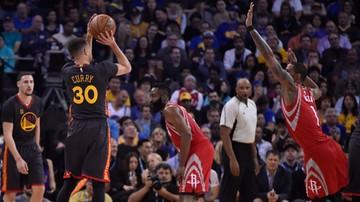 2016-02-10 NBA: Wspaniała passa Warriors trwa. Curry i spółka pokonali Rakiety