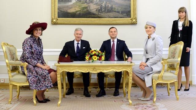 Prezydent: jest szansa na rozwój relacji Polski i Belgii m.in. w gospodarce