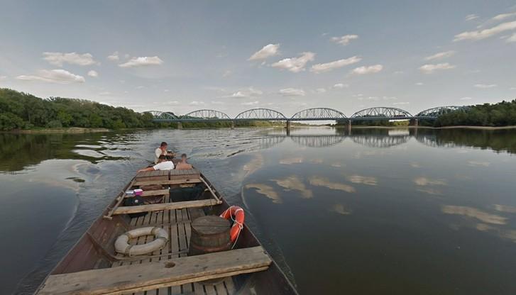 Wisła już płynie w internecie. Królowa polskich rzek w Google Street View