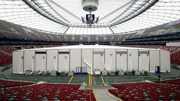 """07-07-2016 13:23 Wystawa smoleńska na Narodowym podczas szczytu NATO. """"Wita"""" uczestników"""