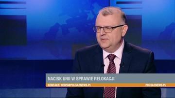 Ujazdowski: referendum ws. uchodźców to fatalny pomysł