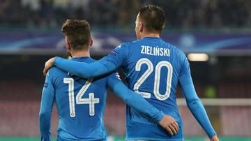2017-11-21 Liga Mistrzów: Gol Zielińskiego dla Napoli