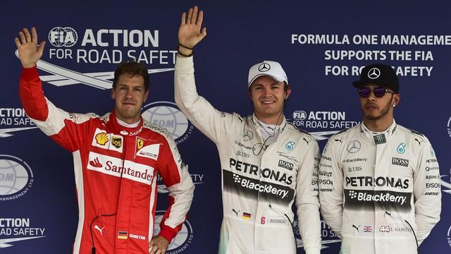 Formuła 1: Rosberg wystartuje z pole position w Meksyku