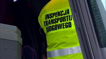 15-05-2017 14:07 Protest Związku Zawodowego Inspekcji Transportu Drogowego. Chcą przekształcenia w służbę mundurową