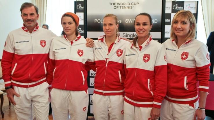Szwajcaria, Włochy i Holandia zagrają w elicie Fed Cup