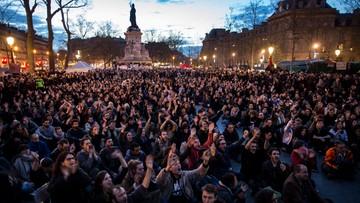 11-04-2016 11:24 Z paryskiego Placu Republiki ewakuowano manifestantów