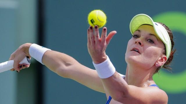 WTA w Miami - porażka Agnieszki Radwańskiej w 1/8 finału